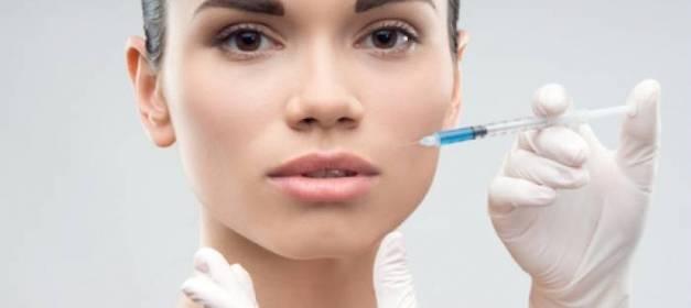 Medicina estética facial. Relleno con ácido hialurónico