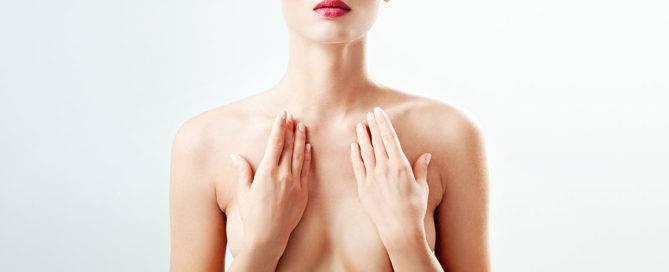 cicatriz de aumento de senos