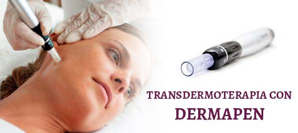 Transdermoterapia con dermapen