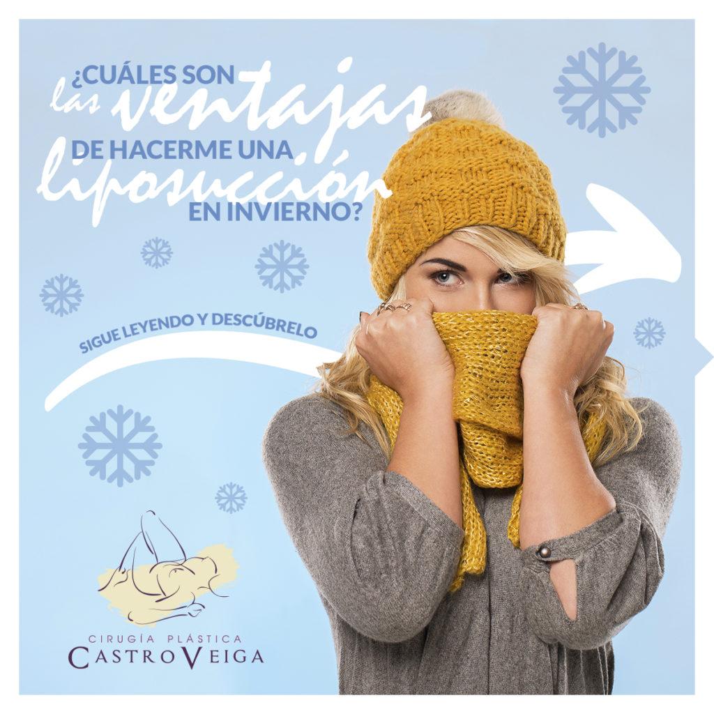 ventajas liposucción en invierno