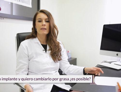 Sustituir prótesis de mama por grasa propia