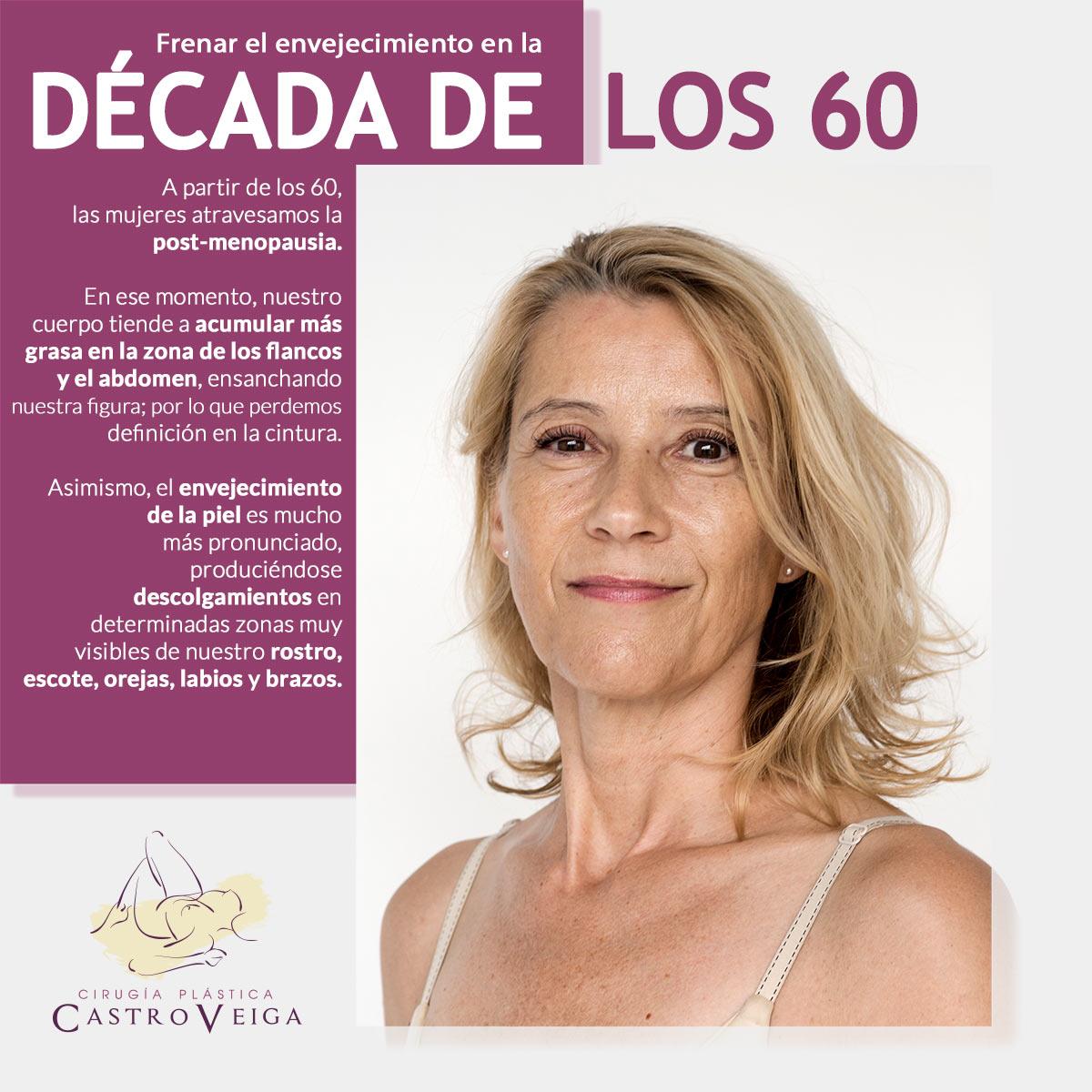 retoques estéticos para mujeres a partir de los 60 años